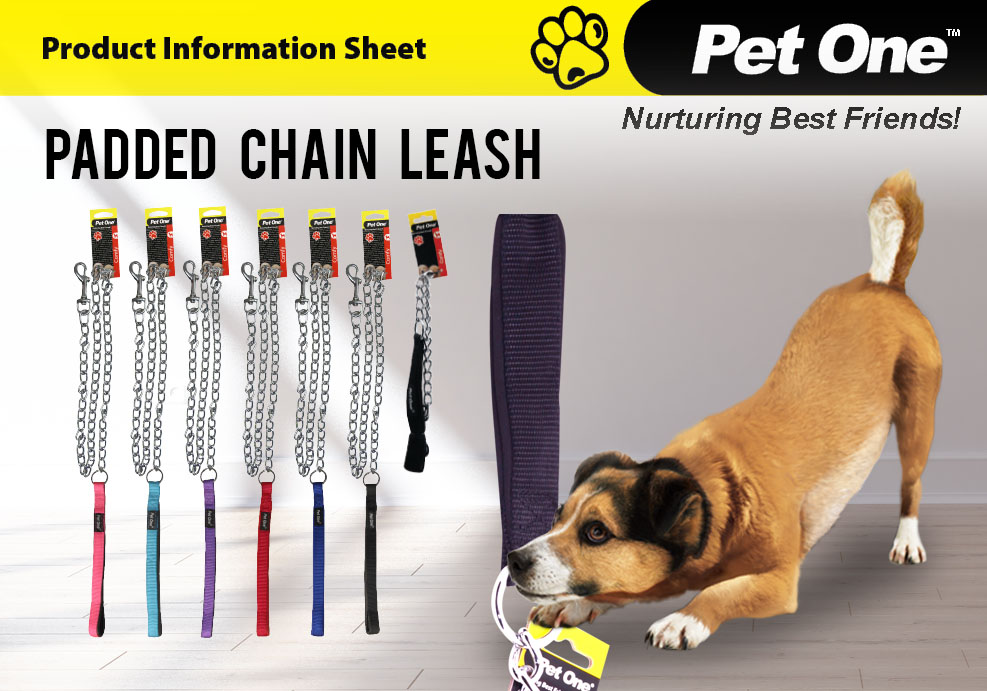 Padded Chain Leash