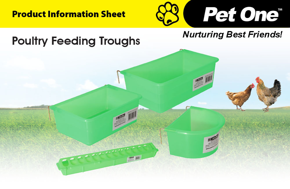 Poultry Feeding Troughs