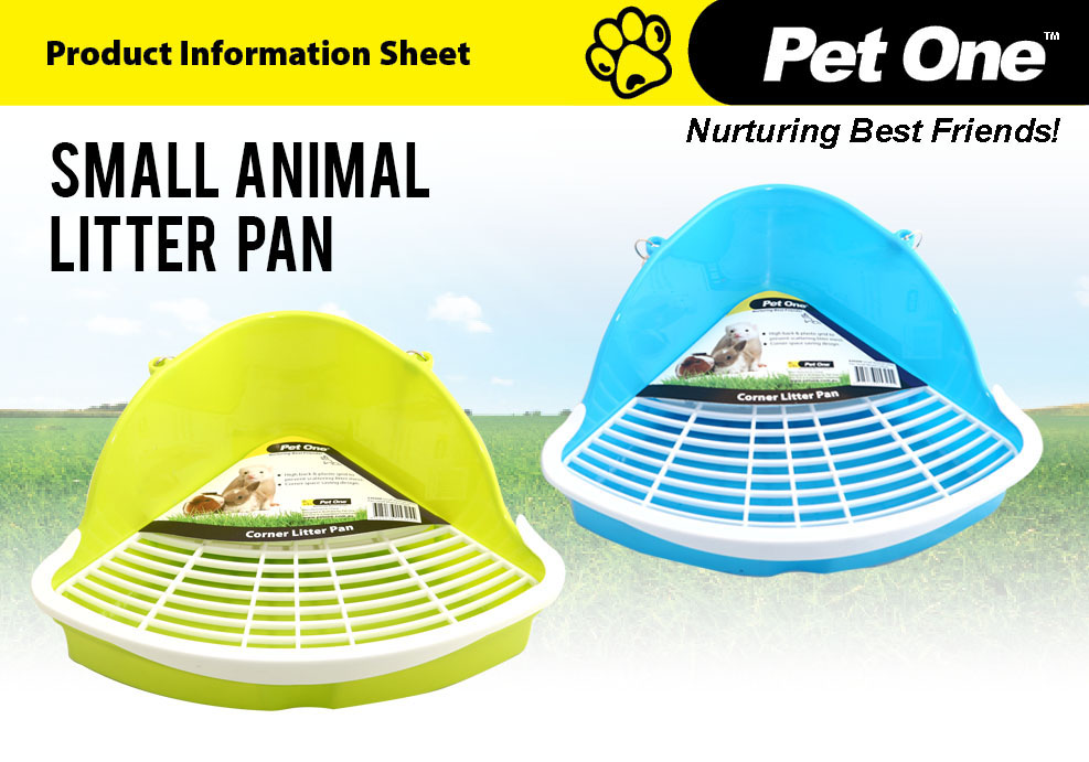 Small Animal Litter Pan