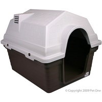 Kennel Pet One Small 69 x 56 x 52 Cm Chocolate