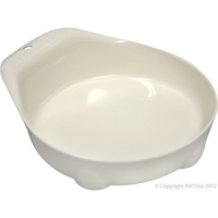 Bowl Small Animal/Small Dog 70ml Melamine White