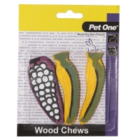 Wood Chews For Small Animals 3 Pack (M)