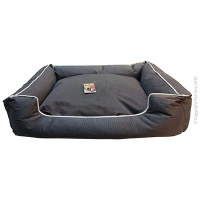 Bed Square Stay Dry 80x70x19cm Black