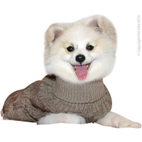 Coat Dog Komfyknit Jumper Icelandic Latte 50cm