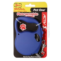 Retractable Leash 3M 12kg And Under (Blue)
