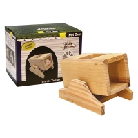 Mouse Playhouse Tunnel Teeter Wood 11 x 8.5 x 9cm