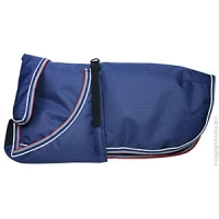 Coat Dog Blizzard H/Duty Waterproof Reflective 45cm Blue