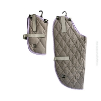 Dog Coat NightSleeper Grey Purple