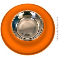 Bowl Silicone S/S Clean Bowl S 160ml Orange