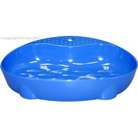 Bowl Cat Dish Feeder 260ml Melamine Blue