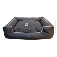 Bed Square Stay Dry 70x60x18cm Black