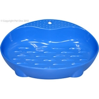 Bowl Cat Dish Feeder 90ml Melamine Blue