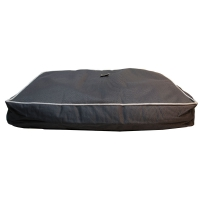 Bed Mat Futon Stay Dry 90x65x12cm Black