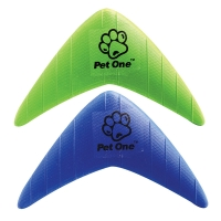 Dog Toy & Chase Boomerang (Green)