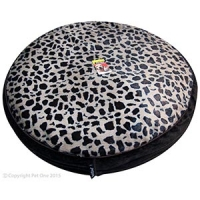Bedding Round 60cm Leopard with Brown side