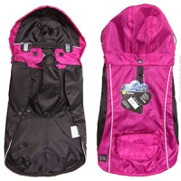 Dog Coat RainBuddy Water Resistant 35cm Pink