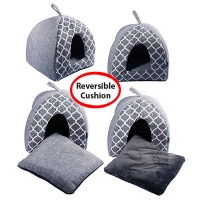 Cat Cubby Cave Imperial 40 X 40 X 40cm Grey Merle