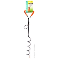 Tie-Out Stake 45cm X 8mm With Plastic Handle
