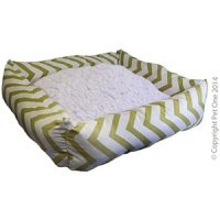 Bed Square 80 x 70  x19cm Summer Aztec Green