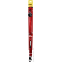 Leash Nylon Reflective Toughdog 20mm 152cm Red