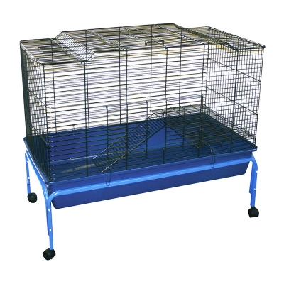 Rabbit Cage With Wheel