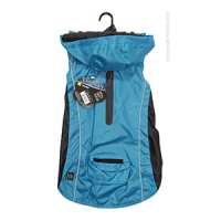 Dog Coat RainBuddy Water Resistant 45cm Blue