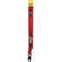 Leash Nylon Reflective Toughdog 25mm 152cm Red