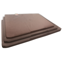 Bedding Mattress Suit Plastics Kennel (size L) Stay Dry Brown