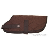 Coat Dog Night Sleeper 65cm Brown