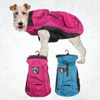 Dog Coat RainBuddy Water Resistant 65cm Pink