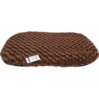 Cushion For Plastic Bed 67cm PV Fleece Brown