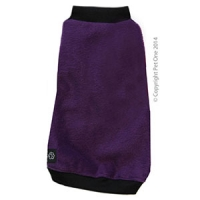 Coat Dog Night Comfy Fleece 65cm Purple