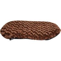 Cushion For Plastic Bed 48cm PV Fleece Brown