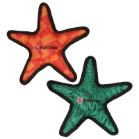 Dog Toy Activ Tuff Squeaky Star Green