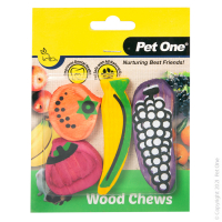 Wood Chews For Small Animals 4 Pack (S/M)