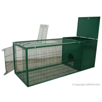 Rabbit Cage Green 120 x 46 x 45cm - Metal (R520)