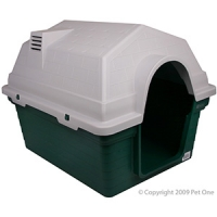 Kennel Pet One Small 69 x 56 x 52cm Green