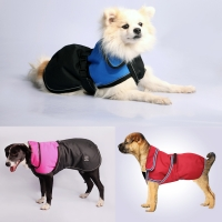 Coat Dog Blizzard H/Duty Waterproof Reflective 80cm Red