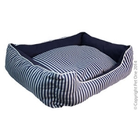 Bedding Square Summer 80 x 70 x 19cm Striped Blue
