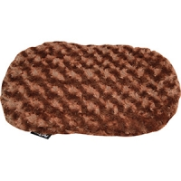 Cushion For Plastic Bed 39cm PV Fleece Brown