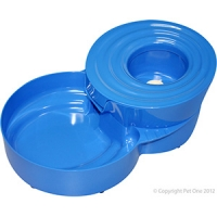 Bowl Automatic Water Fountains Blue
