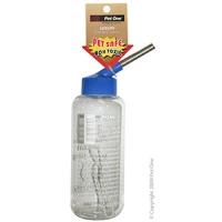 Deluxe Drinking Bottle Clear 500ml