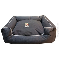 Bed Square Stay Dry 60x50x17cm Black