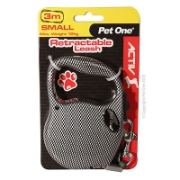Retractable Leash 3M 12kg And Under (Patterned Carbon)