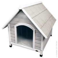 Kennel Chalet (XL) Timber Pitched Roof 96W X 112 D X 105hcm