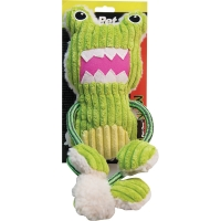 Dog Toy Monster Rope Arms & Legs Frog