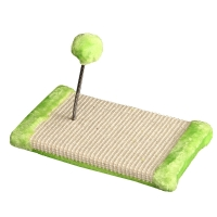Scratching Base With Spring Ball 30x15x15cm (green)