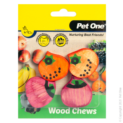 Wood Chews 4 Pack (S)
