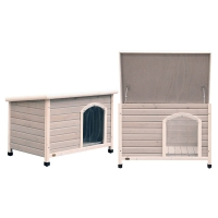 Bavarian Flat Roof Timber Kennel