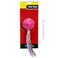 Dog Toy TPR Treat Dispenser Toy Octopus-Pink